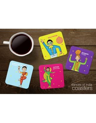 Tea Coasters - Dances Of India