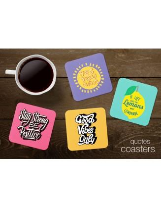 Tea Coasters - Quotes