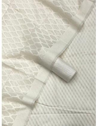 Beautiful White Patola Resham Weaved Suit