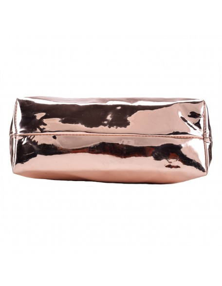 Panchnaina Women Rose Gold Handbag