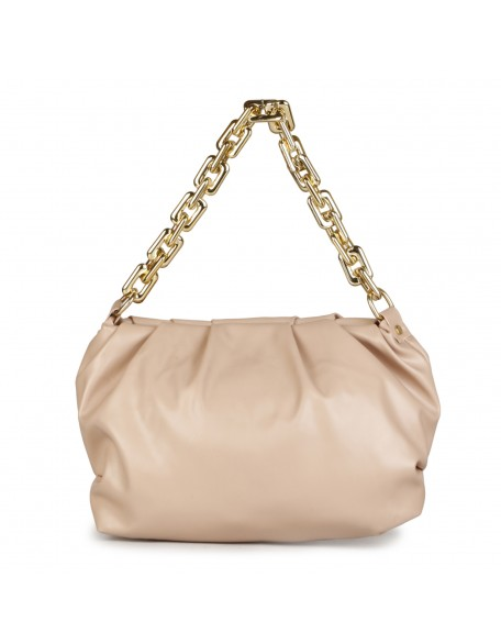 Panchnaina Peach Sling Bag With Golden Chain
